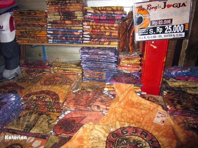 Belanja Dress Batik di Malioboro Jogja  Katerina