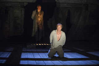 Mark Padmore and Jacques Imbrailo, Billy Budd, Glyndebourne 2013, Photo credit Richard Hubert Smith