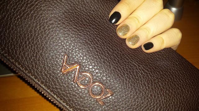Paznokcie idealne na karnawał! SEMILAC Black Diamond&Gold Disco | Manicure Hybrydowy