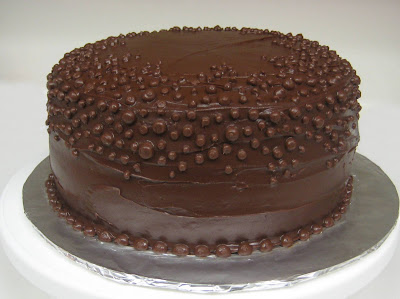 Chocolate Dots Cake 2