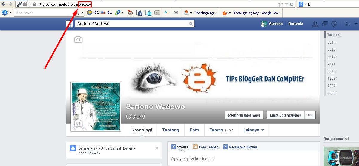 ID Facebook