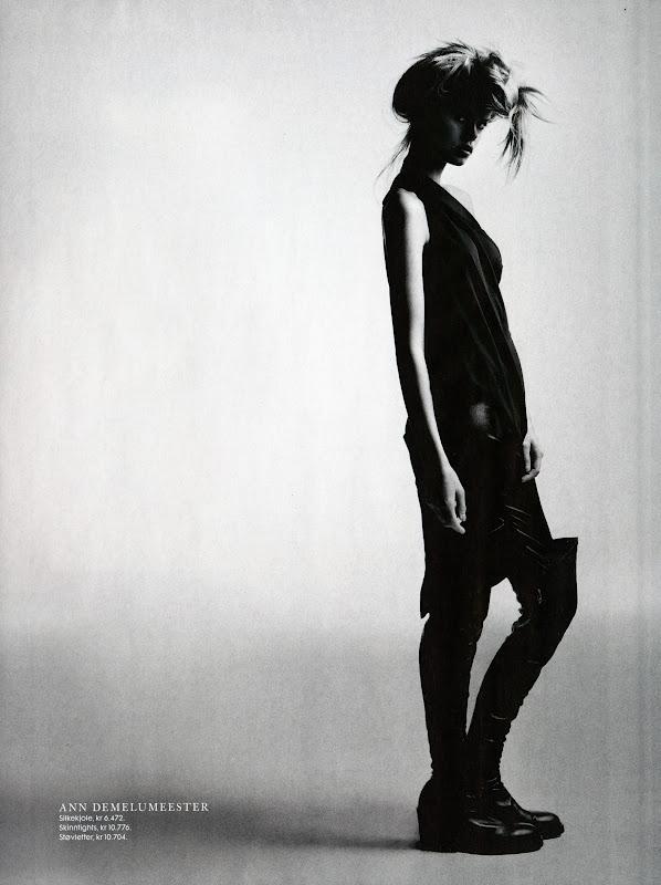ფრიდა ასენი ნორვეგიული Elle-ს სექტემბრის ნომრისთვის