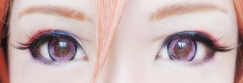 Get the Quirky Cosplay Look with Geo Xtra WTB47 Pink Circle Lenses