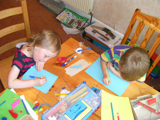 masterclass in greetings cards and pre-school artwork