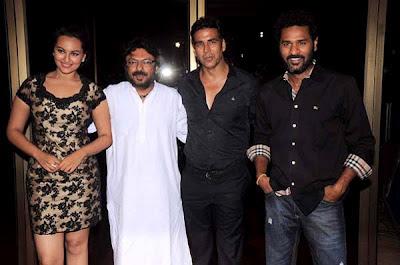 Akshay,Prabhudeva,Sonakshi,Sanjay lila Bhanshali
