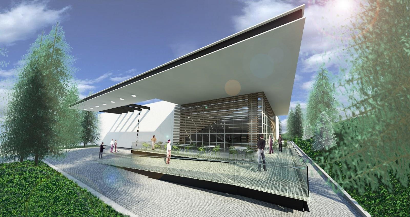 Biblioteca esia tecamachalco 2m arquitectos for Biblioteca programa arquitectonico