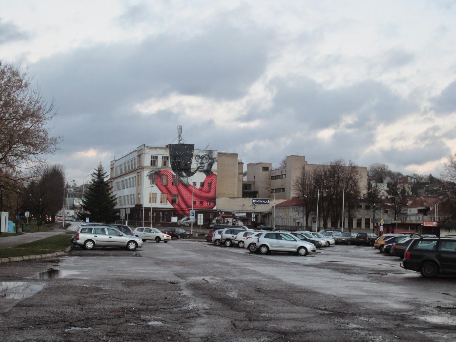 woman in Kaunas Nasty