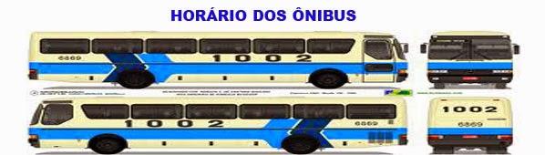 HORÁRIO DOS ÔNIBUS 1002
