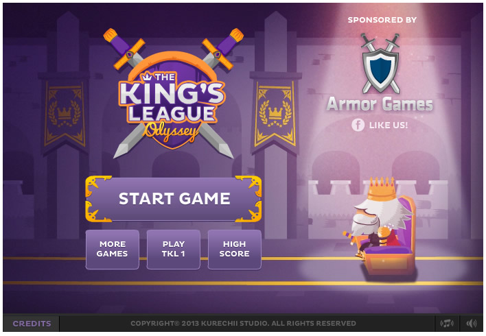 Armor Game : The Kings League Odyssey