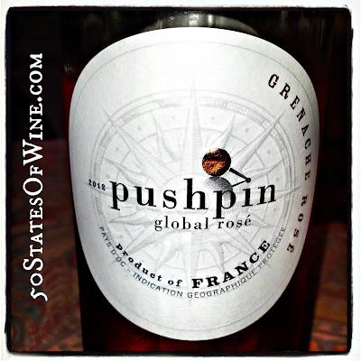 Pushpin 2012 Grenache Rosé