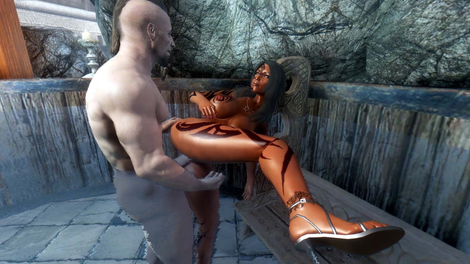 Skyrim nude skin xxx photos