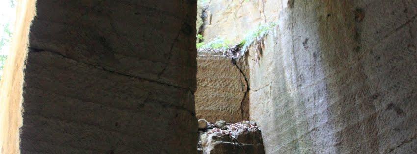 薮塚石切場跡