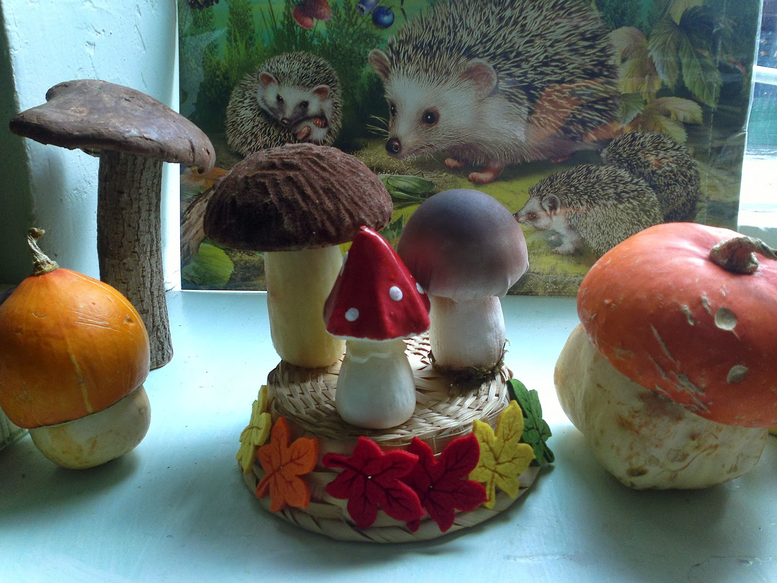 Поделки на тему ягоды и грибы 53