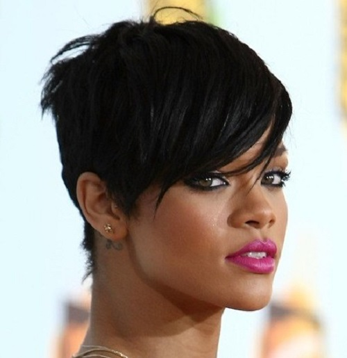 Crop Hairstyles for African American Women 2013
