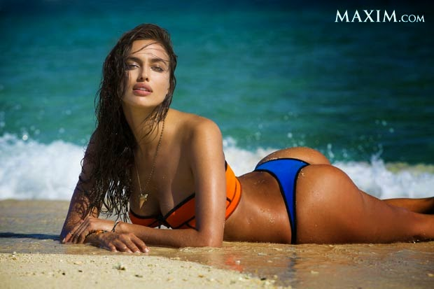 Yes, the Maxim 2014 Hot 100 of Sexiest Women & Hottest Celebrities are definitely right to showcasing the spontaneous work list to a public and put irina Shayk on the list number.