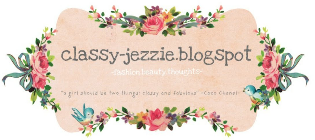 Welcome to Classy Jezzie Zone