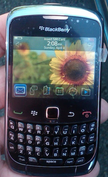 BlackBerry Curve 3G 9300 Review