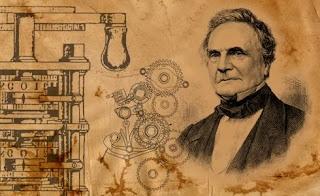 Charles Babbage y alguno de sus diseños