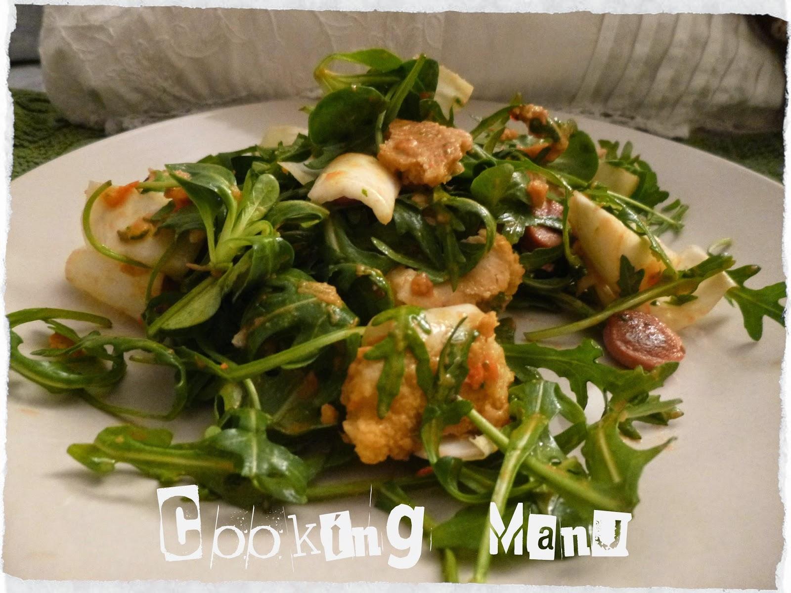 juicy and crunchy salad