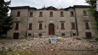 >6.0 Magnitude Earthquake Kills 7 In Northern Italy