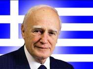 Il presidente greco Karolos Papoulias ha origini albanese