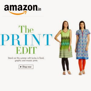 Amazon: Buy Women's Kurti upto 50% off from at Rs.140 only