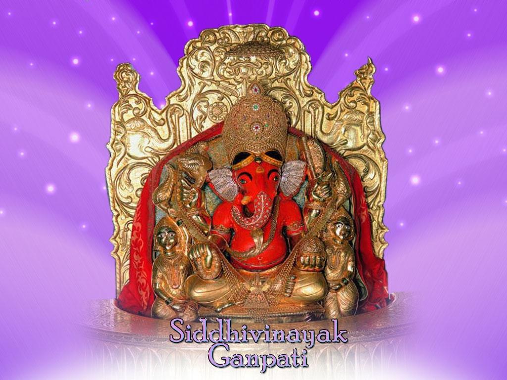 Ganpati of siddivinayak god wallpapers - Sri ganesh wallpaper hd ...