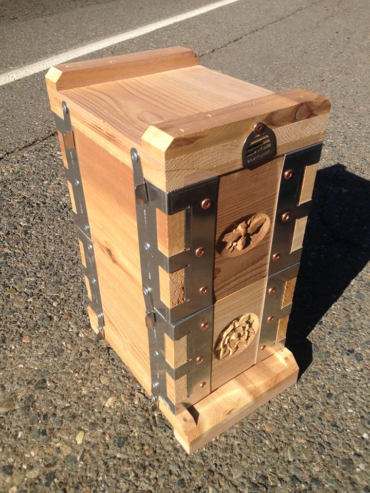 Eco bee box modern beehives bees for Modern hive