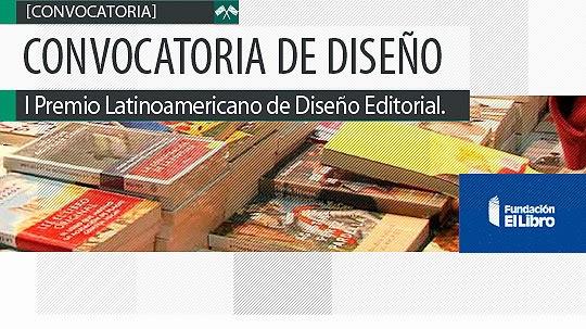 Convocatoria de Diseño. Premio al Diseño Editorial