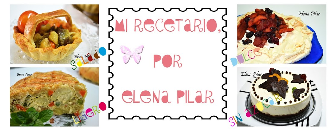 Mi Recetario por Elena Pilar