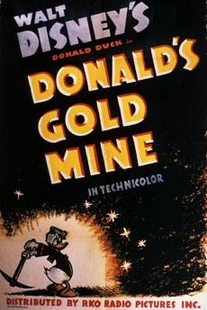 Trésors Disney : les courts métrages, créateurs & raretés des studios Disney Donaldsgoldmine-plakat