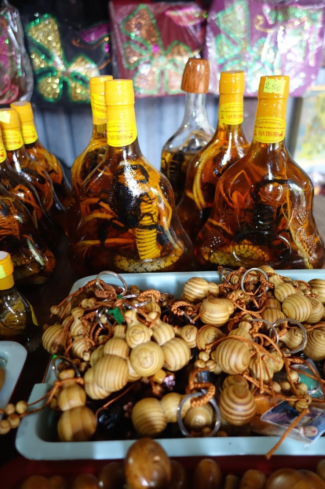Vietnam snake wine
