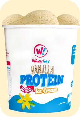 Diets and calories wheyhey high protein ice cream review its sweetened with xylitol which is a natural sweetener contrary to sugar xylitol is not only good for teeth it has a low glycaemic index and a third ccuart Image collections