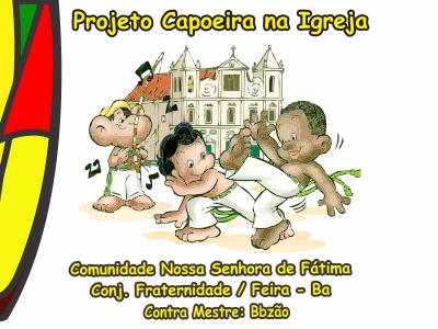 Projeto Capoeira na Igreja