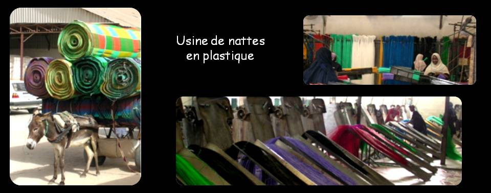 nouakchott accueil visite de l 39 usine de nattes en plastique. Black Bedroom Furniture Sets. Home Design Ideas