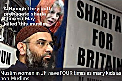"Chodary and May both want more sharia and less Human Rights - so what about ""British values""?"