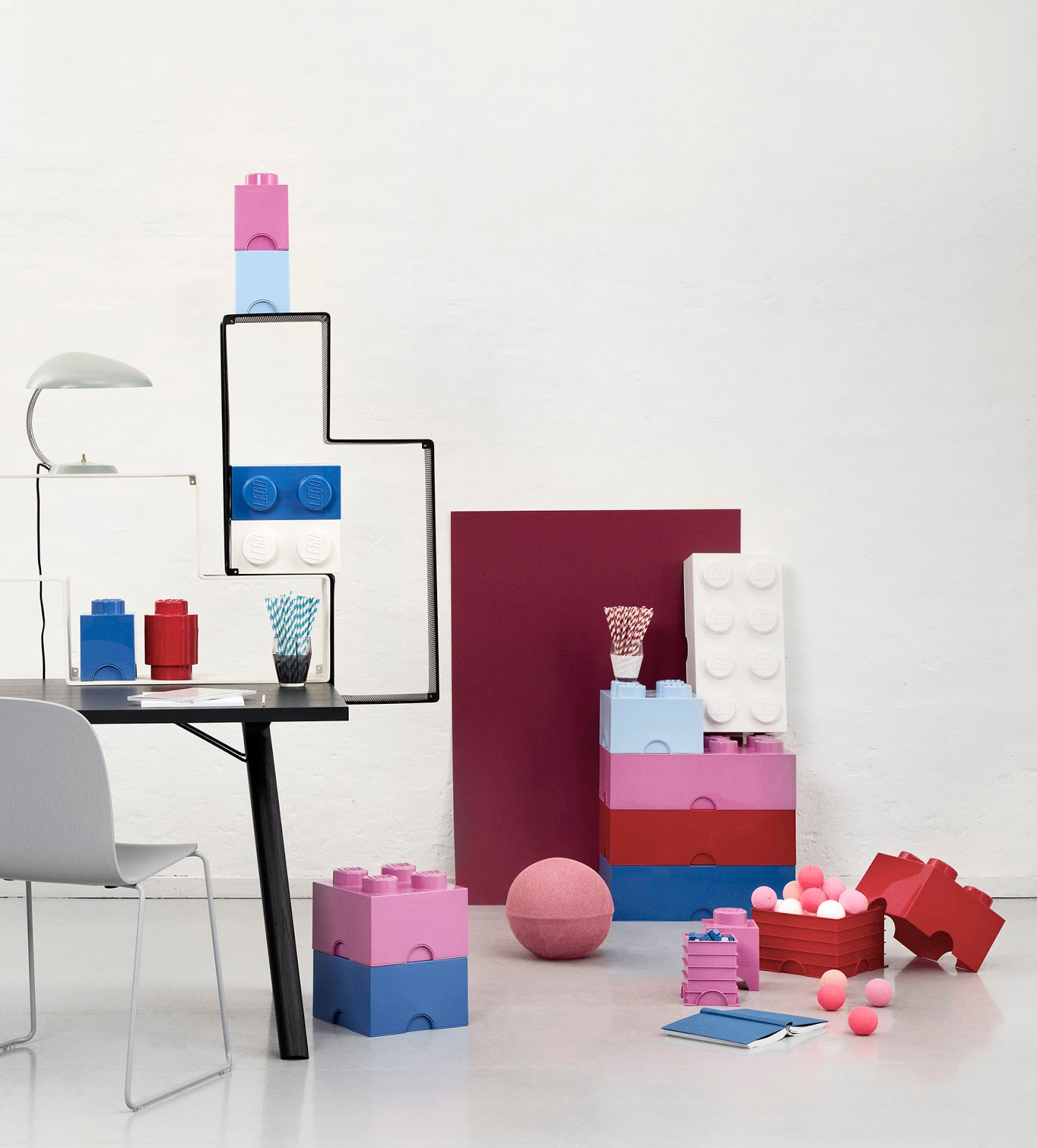 Lightbox-valo A4-koko Lastenhuone - Valaisimet