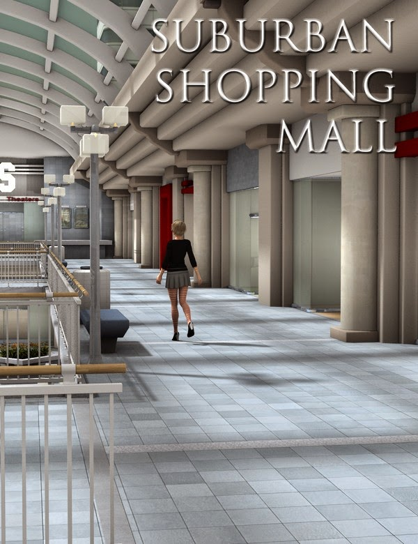 Suburban Shopping Mall