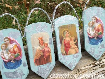 Craft, Madonna plaque