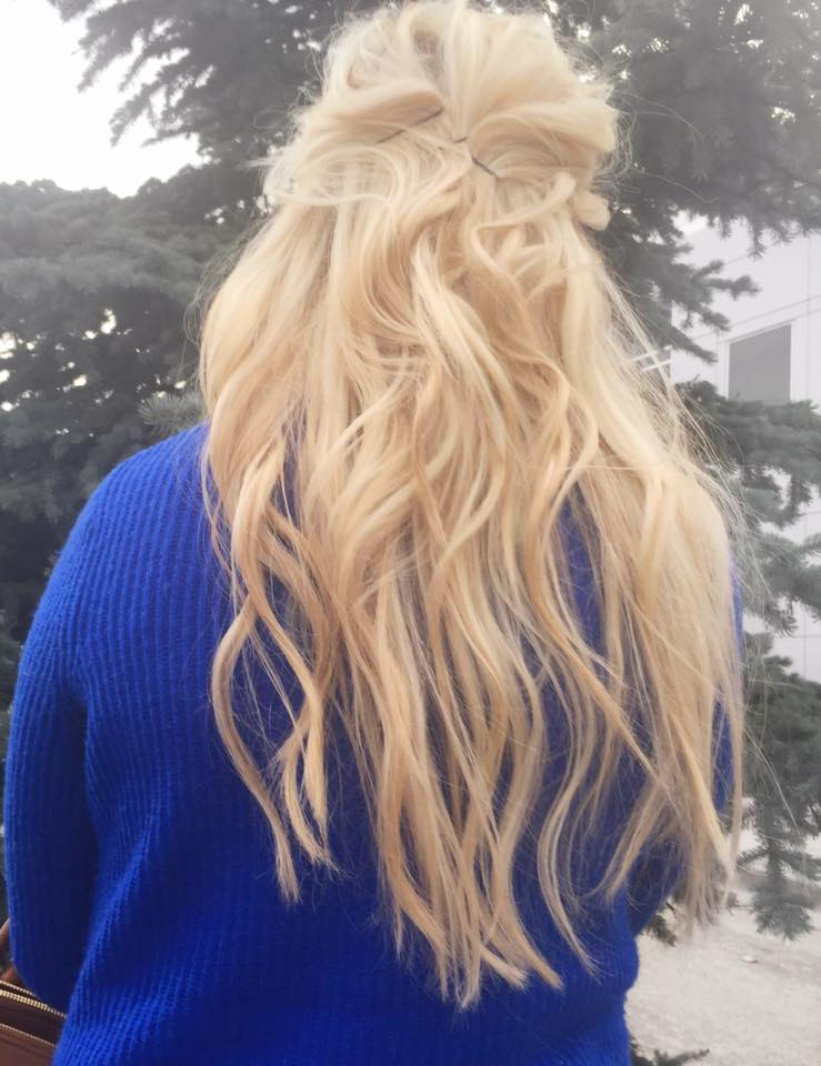 cool toned blonde hair