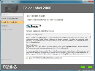 LX2000 BarTender Driver