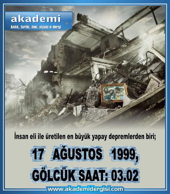 yapay deprem, haarp, 17 ağustos 1999, gölcük, aydoğan vatandaş, içimizdeki israil,