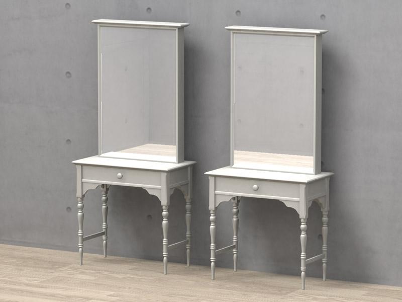 鏡(ミラー) [DS-04] - mirror 3D objects