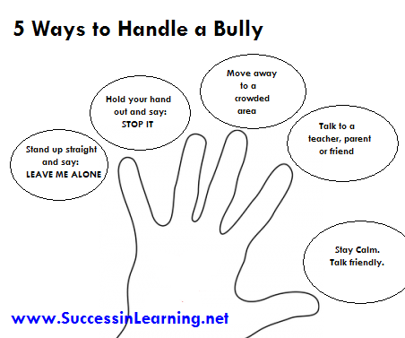 bullying: how to handle it essay In this bullying article we take a look at verbal bullying what is verbal bullying what are the effects of verbal bullying read this article to learn more about how to recognize verbal bullying and ways to deal with someone that is a verbal bully.