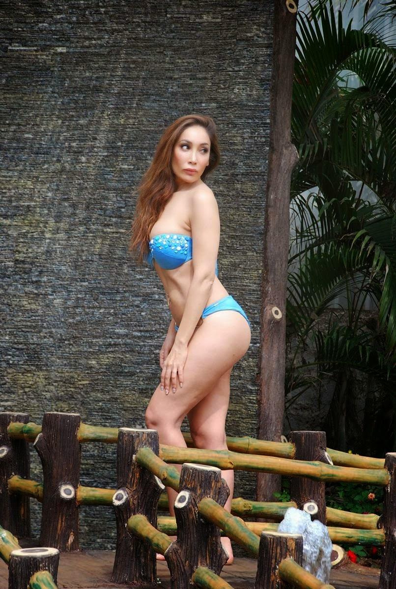Sofia Hayat's Bikini Holi Photoshoot 2015