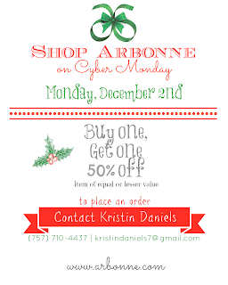 Arbonne Cyber Monday Sale! BOGO 50% off!!