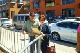 Mom and Dad, Cannery Row, Monterey, June 2013