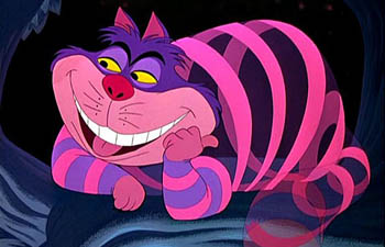 Cheshire Cat Alice in Wonderland 1951 disneyjuniorblog.blogspot.com