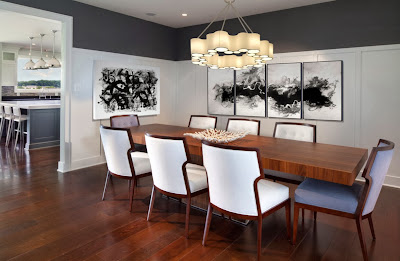 Ruang Makan Dengan Lampu Gantung 2