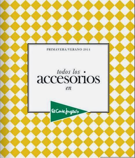 accesorios el corte ingles moda PV 2014